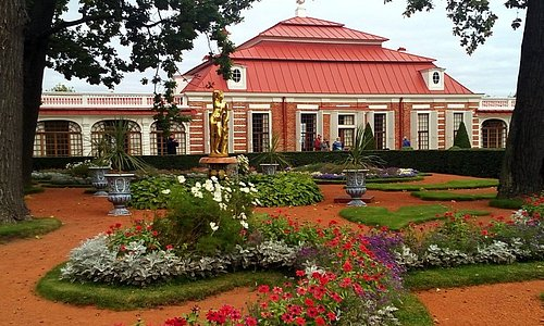 Monplaisir Historical Palace Museum, Peterhof, Russia