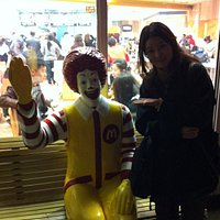 McDonald's photo with Ronald