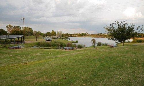 Lake looking North