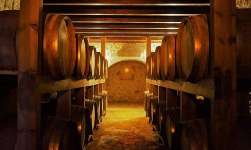 Our French Oak barrels.