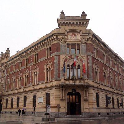 Panoramica sul palazzo