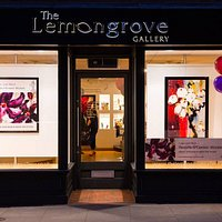 The exterior of our beautiful gallery!