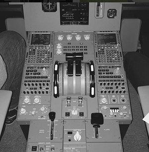 le Cockpit de l'A320