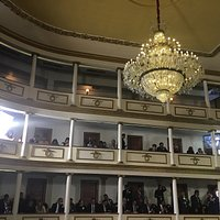 Vistas del interior en el 100o aniversario de la Constitución Política de los Estados Unidos Mex