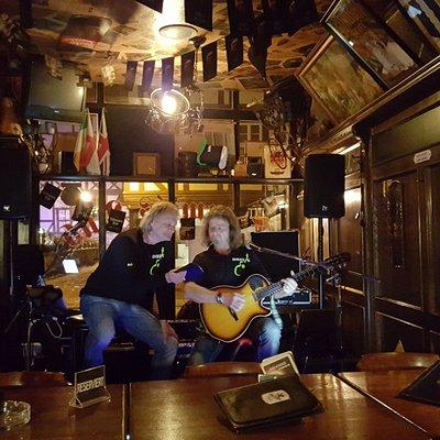 Live Musik im Pub