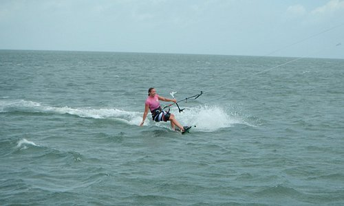 Girls are great at Kite-Surfing!