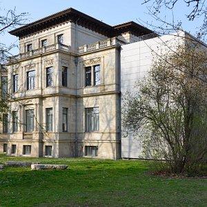 Altbau der GfZK, Herfurth'sche Villa, Foto: Sebastian Schröder