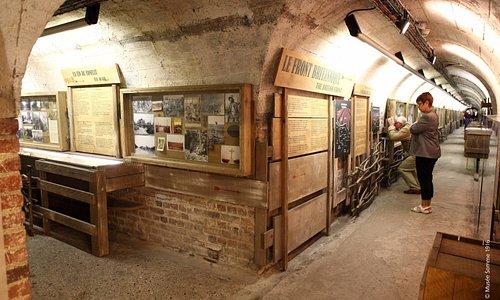souterrain du musée somme 1916