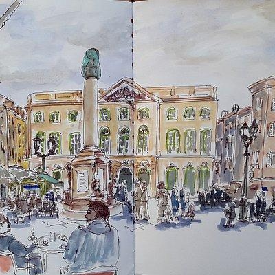 place de la Mairie - Aix en Provence