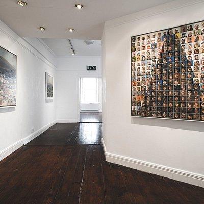 Hamilton Gallery Interior 3 Featuring work by Charles Harper.