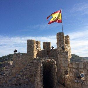 le château tour ou il y a une superbe vue