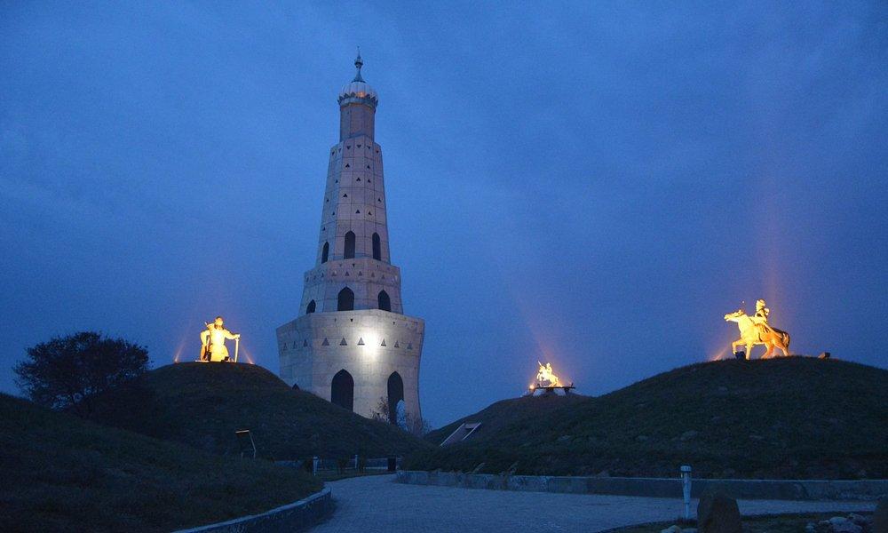 after sunset fateh singh burj