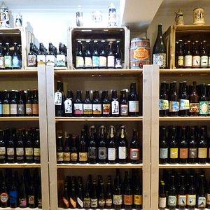 Une sélection de bières artisanales locales