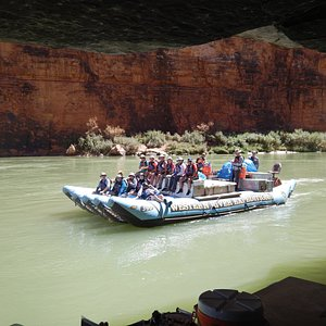 Setting Sail for our 6 day 182 mile adventure....Grand Canyon!
