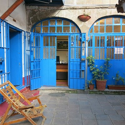 I loved the little courtyard at Amauta - here we would sit and people would come together and ta