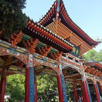 สถาปัตยกรรมแบบจีนสวยงามอีกแบบ