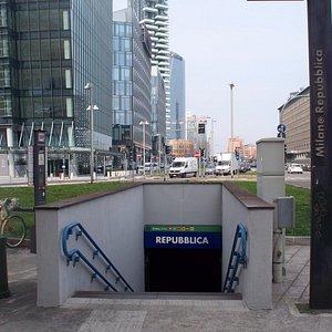 stazione Repubblica del Passante Ferroviario
