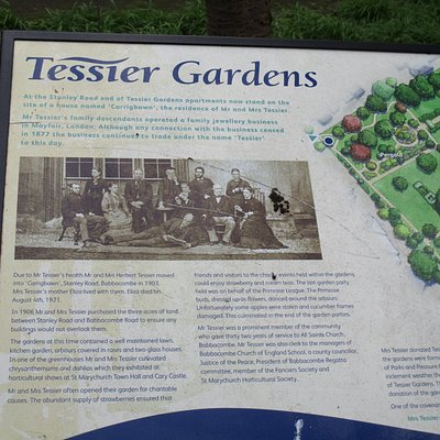 Tessier Gardens Adults only gardens