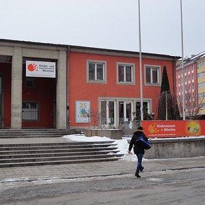中央駅の直ぐ脇にある、子供博物館