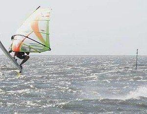 Sailing Isabel at Lakes Bay in 4.0 conditions!!!