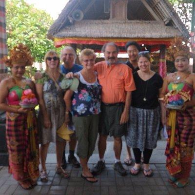 enjoying Bali ocal culture and tradition