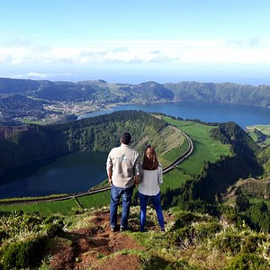 Pure Azores in Sete Cidades during São Miguel West tour