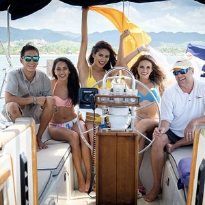 Great times were had while doing our photo shoot aboard Sea Fox!