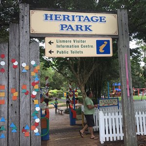 Wonderful Heritage Park great for young and not so young.