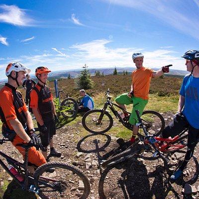 RIDELINES - Mountain Biking Tuition, Scottish Borders. Tweed Valley.