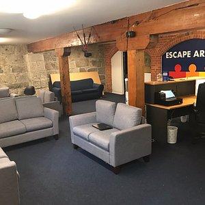 Inside Reception Area