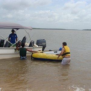 Passeio de lancha privativo ao Delta do Rio Parnaíba