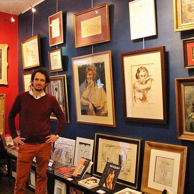 Bienvenue à la galerie Les Montparnos