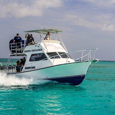 Dive boat Provo Crusader