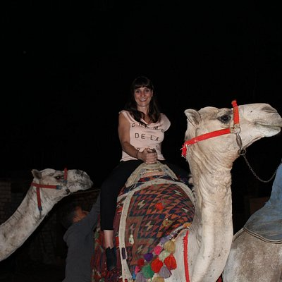 recorrida nocturna en camello