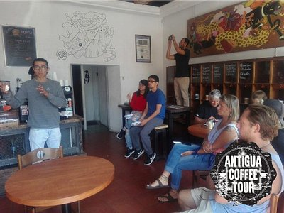 You get to know the best Coffee houses in Antigua