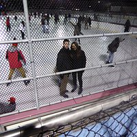 Foto tras las rejas, ya que no nos dejaron hacer bien una foto sin la valla.