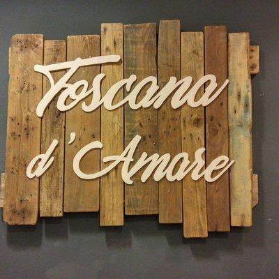 Toscana d'Amare il nostro logo