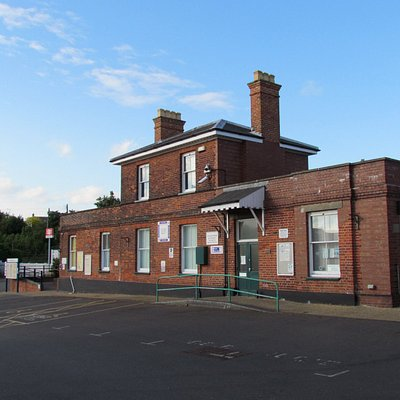 Halesworth Railway Station, home to the Museum