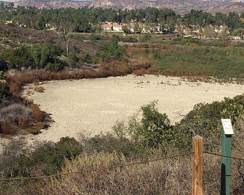 The dry lake