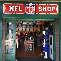 NFL Shop entrance.