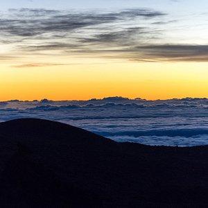 Sunrise at Mauna Kea