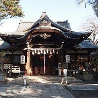 拝殿 本殿は下鴨神社から移築されたもの
