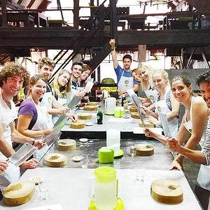 1st cooking school on KoLanta. Creative Thai cuisine, Having Fun, and Helping a great cause; Lan