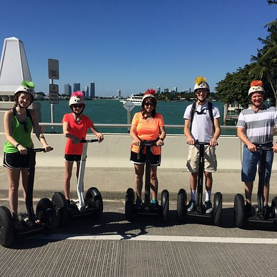 star island segway tour miami, south beach segway tours for families and private tours