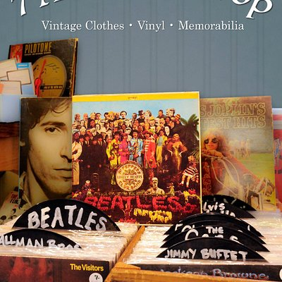 Vinyl, cds and funky unique gifts.