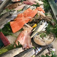Amazingly fresh fish at Fish Glorious Fish on site at hare hatch sheeplands, he even delivers, I