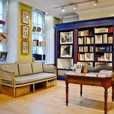Explore illustrated rare books and much more on the ground floor