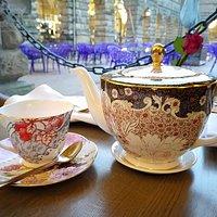 Beautiful Wedgewood china.