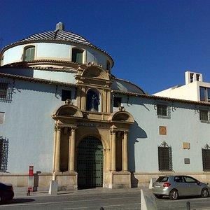 Iglesia de Jesús, que forma parte del museo.