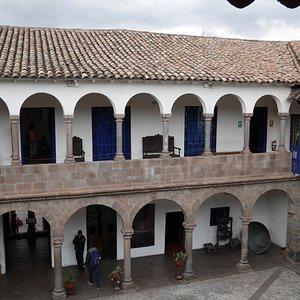 der Innenhof des Museums